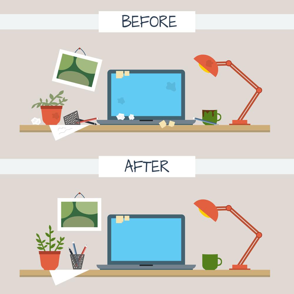 ブログを書く前にパソコンの整理整頓するべき2つの理由【現実問題】