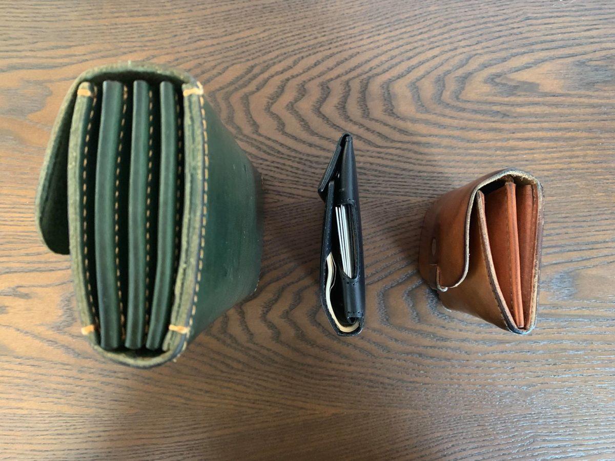 従来の長財布との比較