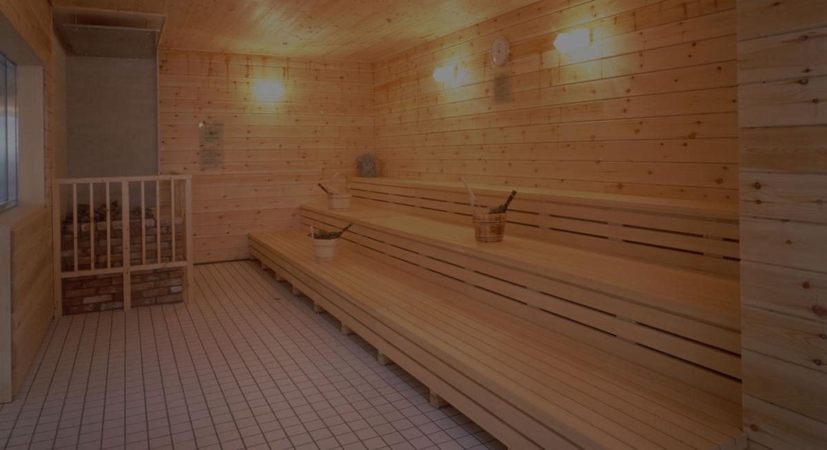 圧倒的に、高温サウナで冷水水風呂です