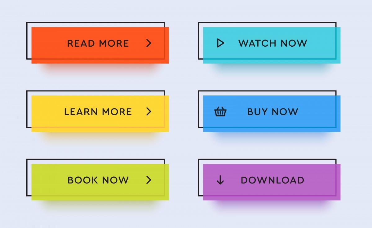 【コピペでOK】当ブログで使用するボタンデザイン【CSS】