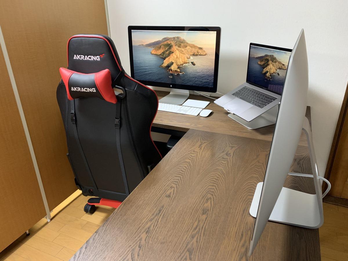 【Macデスク環境】作業スペースの大半は、断捨離できる話