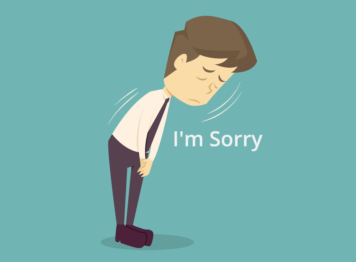 【綺麗事は不要】謝罪メールの例文を公開します【正直に謝罪しよう】